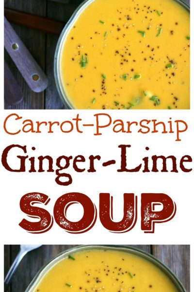 Carrot-Parsnip Ginger-Lime Soup