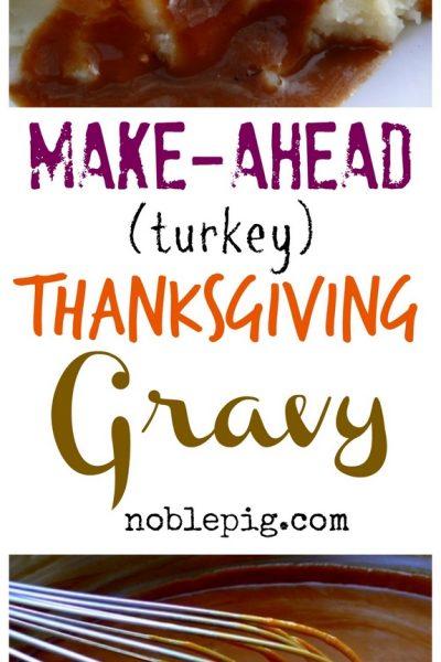 Make Ahead Turkey (Thanksgiving) Gravy
