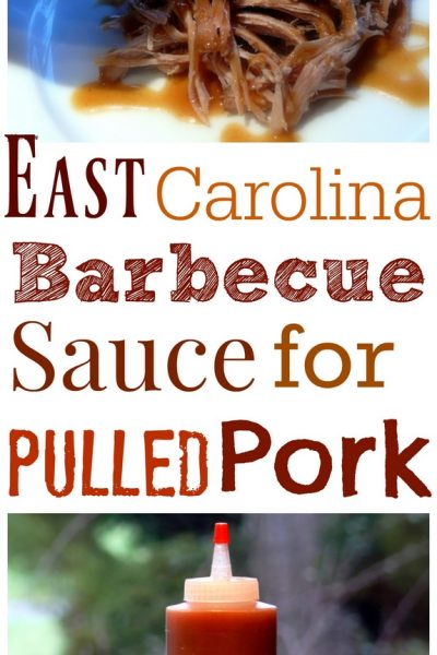 East Carolina Barbecue Sauce for Pulled Pork + Video