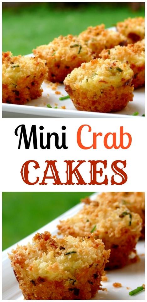 Mini Crab Cakes + VIDEO