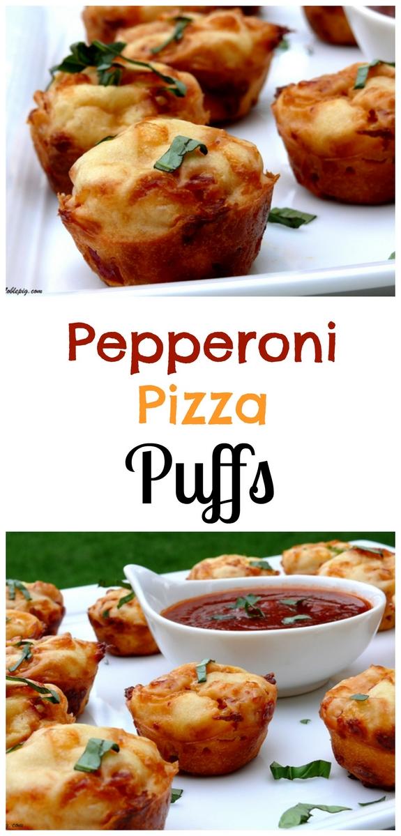 Pepperoni Pizza Puffs
