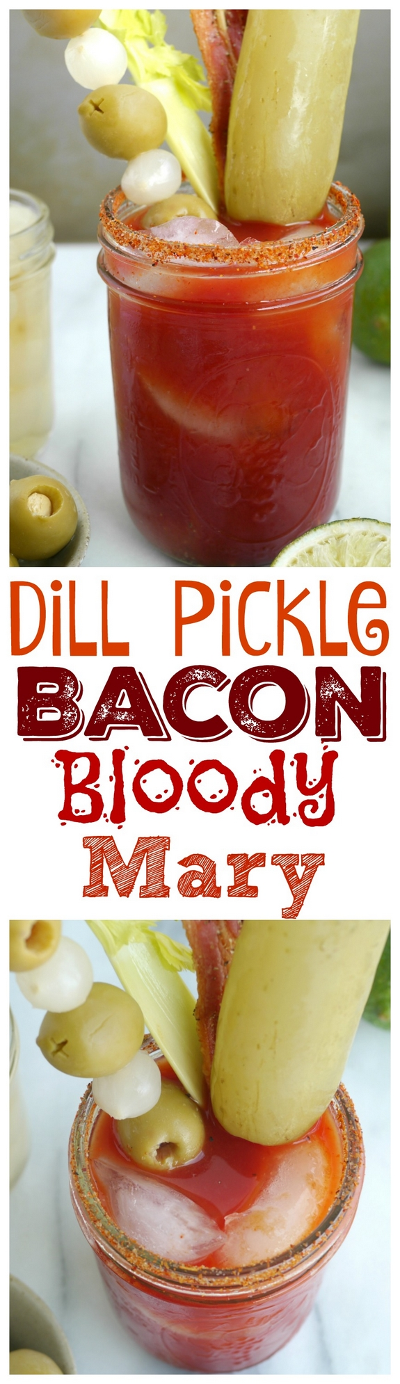 Dill Pickle Bacon Bloody Mary