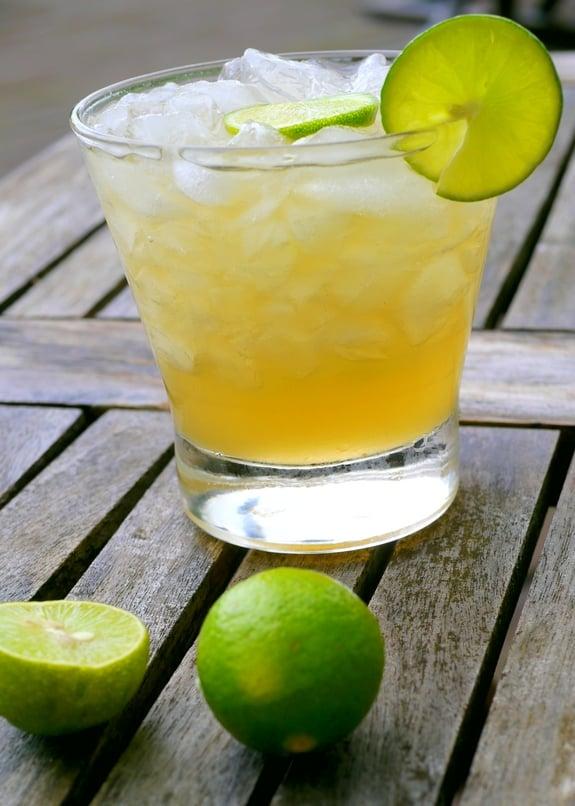 Key Lime Caipiranhas