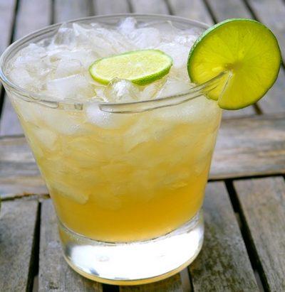 Key Lime Caipirinhas
