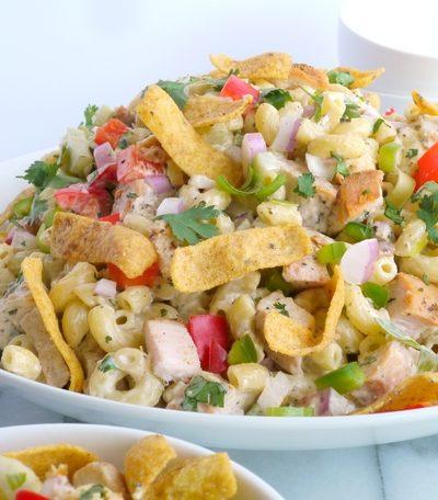 Kicked-Up Chicken-Macaroni Salad