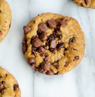 Tropical Chocolate Chip Cookies with Coconut Oil