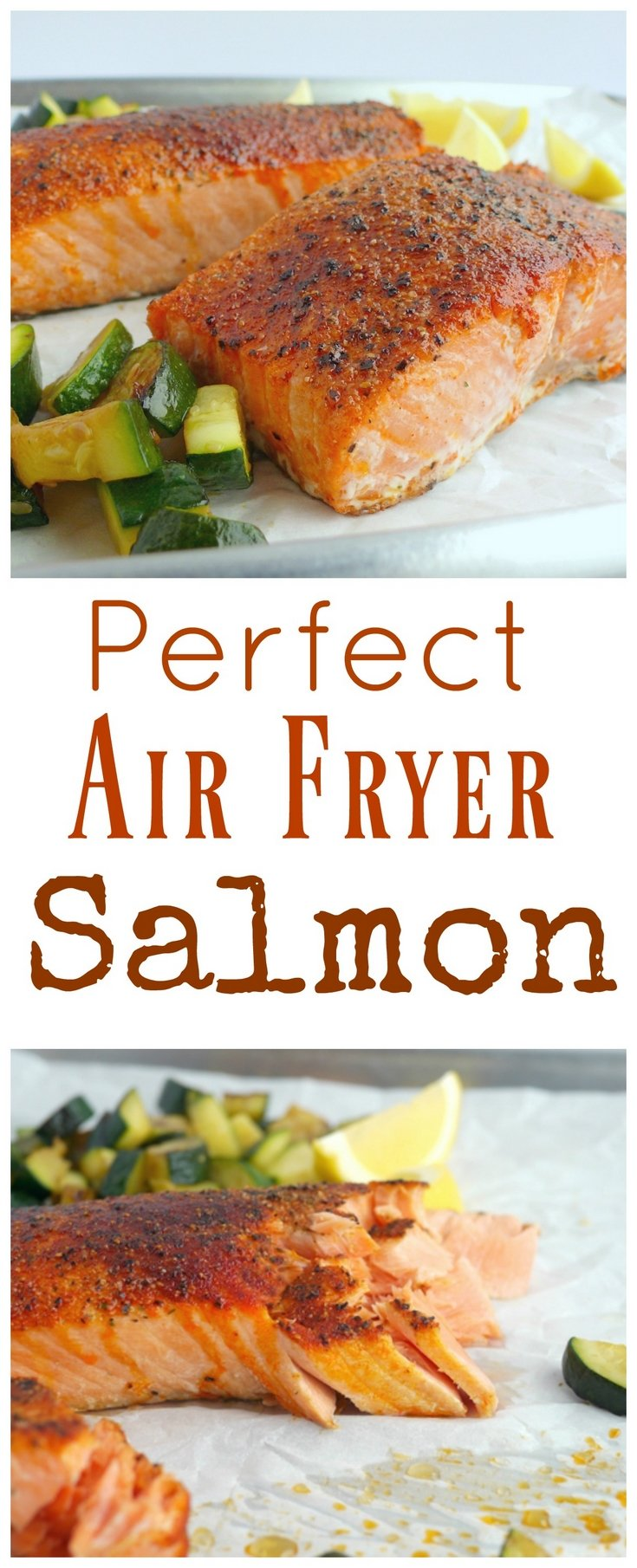 I would have never guessed making salmon in an air fryer would have produced the most tender and juicy salmon every time. I promise this Perfect Air Fryer Salmon will become your new way to conquer salmon in the kitchen from NoblePig.com. #airfryer #airfryerrecipe via @cmpollak1