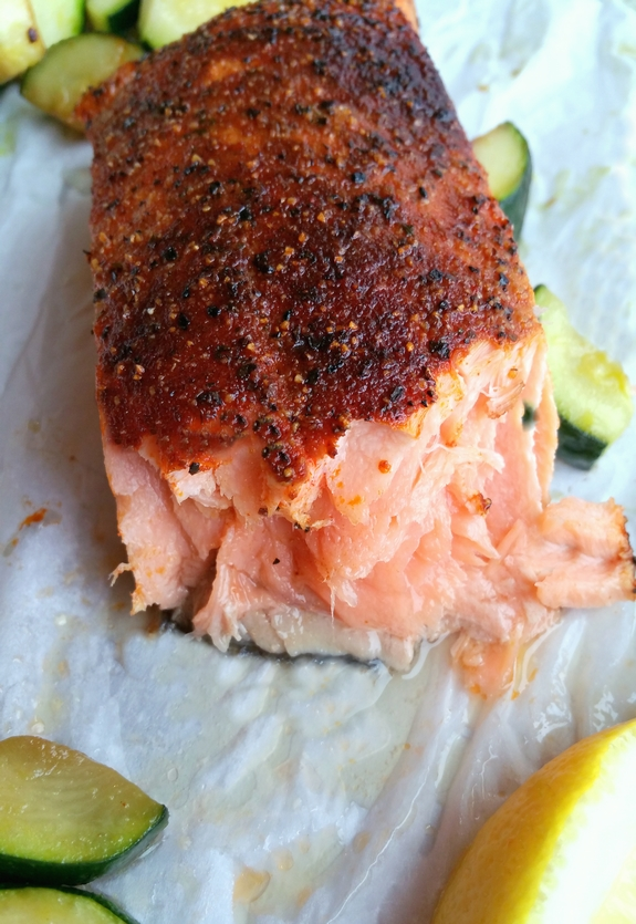 Perfect Air Fryer Salmon