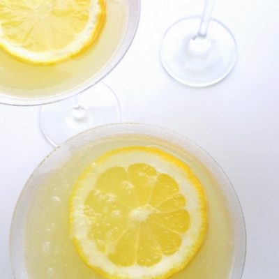 The Most Refreshing Lemon Drop Martini