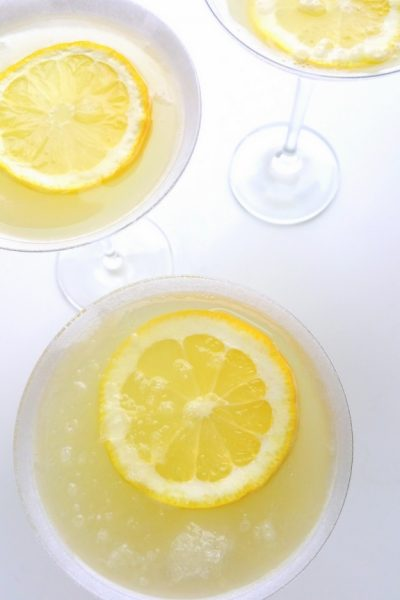 The Most Refreshing Lemon Drop Martini