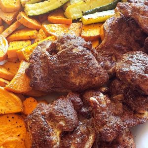 Air Fryer Caribbean Spiced Chicken