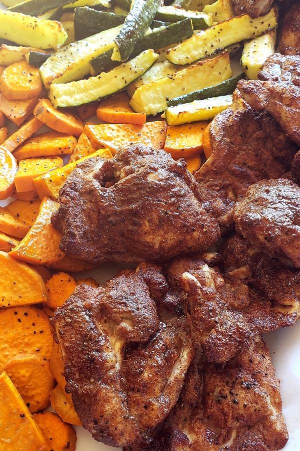 Air Fryer Caribbean Spiced Chicken