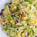 Easy Pineapple Coleslaw