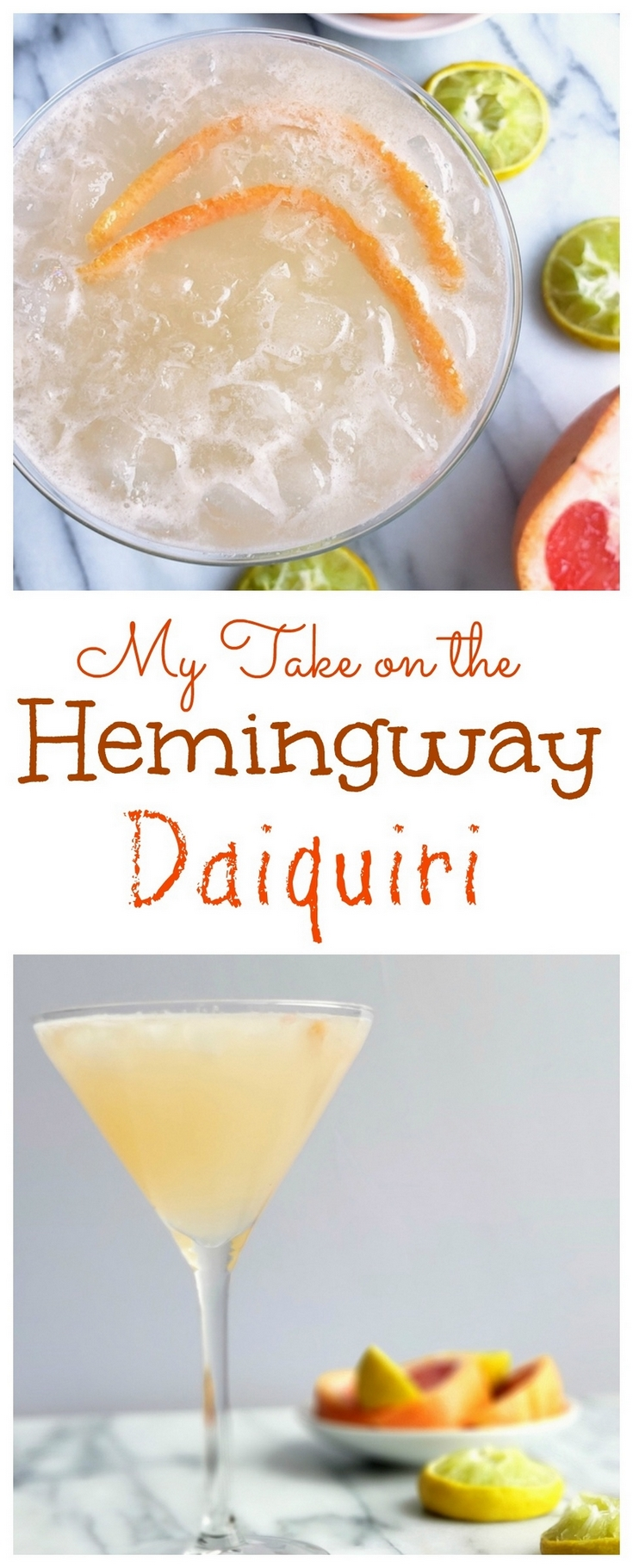Ernest Hemingway became obsessed with the daiquiri after spending time in Cuba. This is my take on the special recipe created for him in his honor.  #cocktail #daiquiri via @cmpollak1