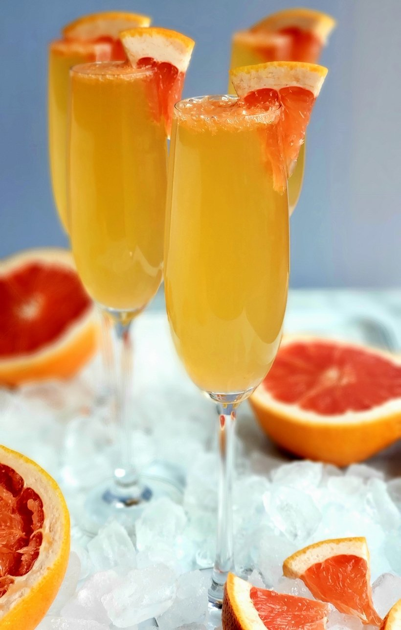Grapefruit Prosecco Cocktails