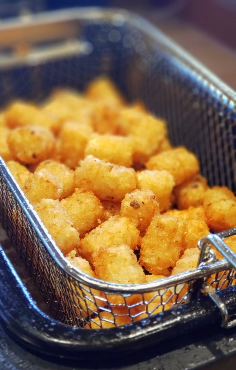 Save the plain ketchup for the kids and make the Best Tater Tot Dipping Sauce for those with a more mature palette. If you prefer a little spicy heat, this tot dipping sauce is for you. #noblepig #dippingsauce #tatertots #spicysauce