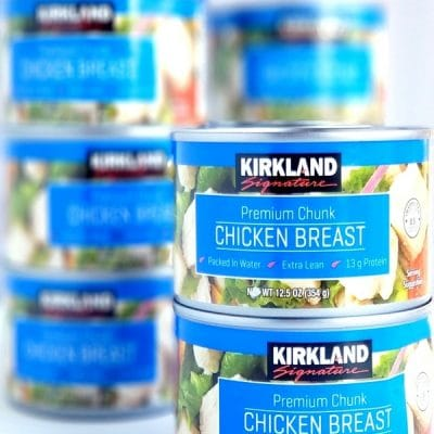 Canned chicken is a life and time-saving pantry staple we should all regularly keep on our kitchen shelves. Here are three delicious canned chicken recipes I have been making my family for over twenty years. Canned chicken is one of the most convenient and inexpensive ways to add protein to a meal. #easymeals #pantrystaplerecipe #easypantrystaplemeal #easydinner #whatsfordinner #noblepig