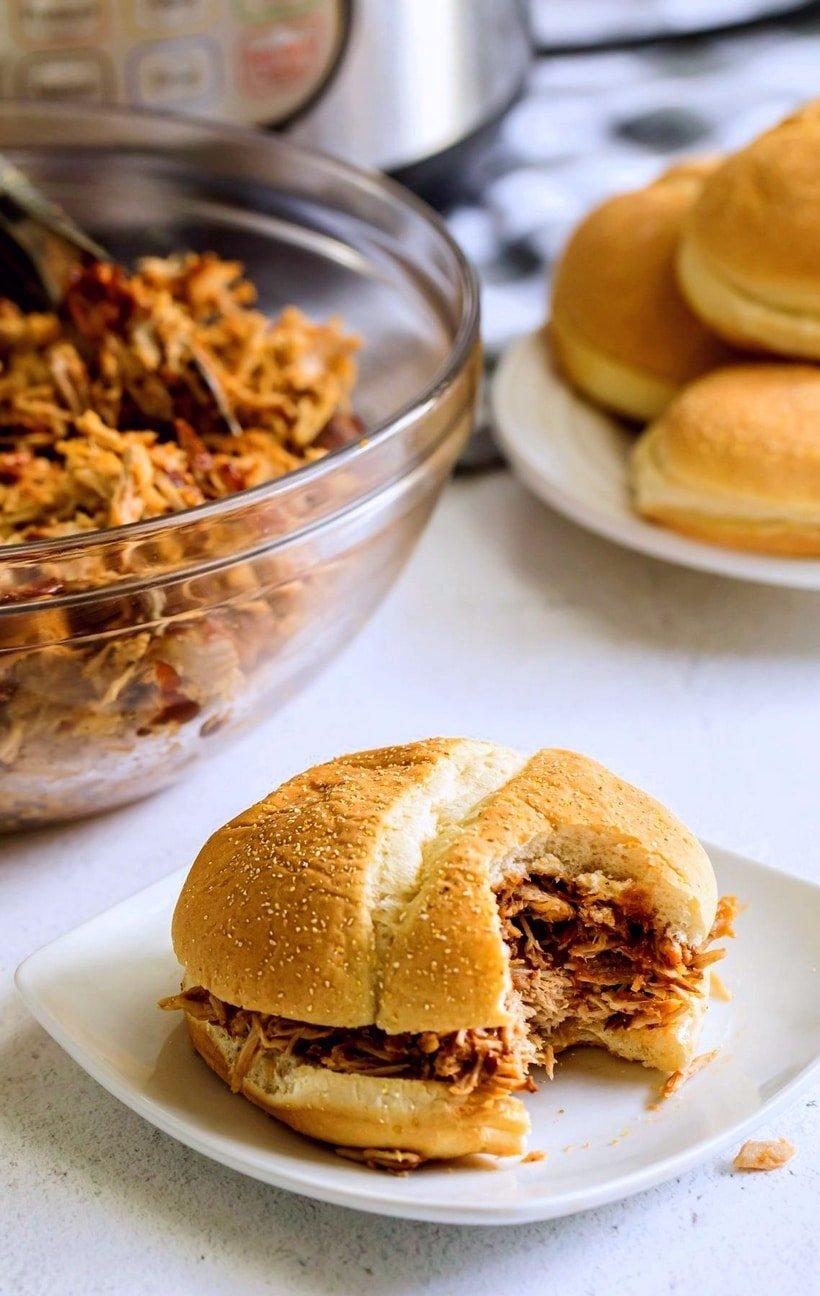 instant pot smoked pork shoulder picnic