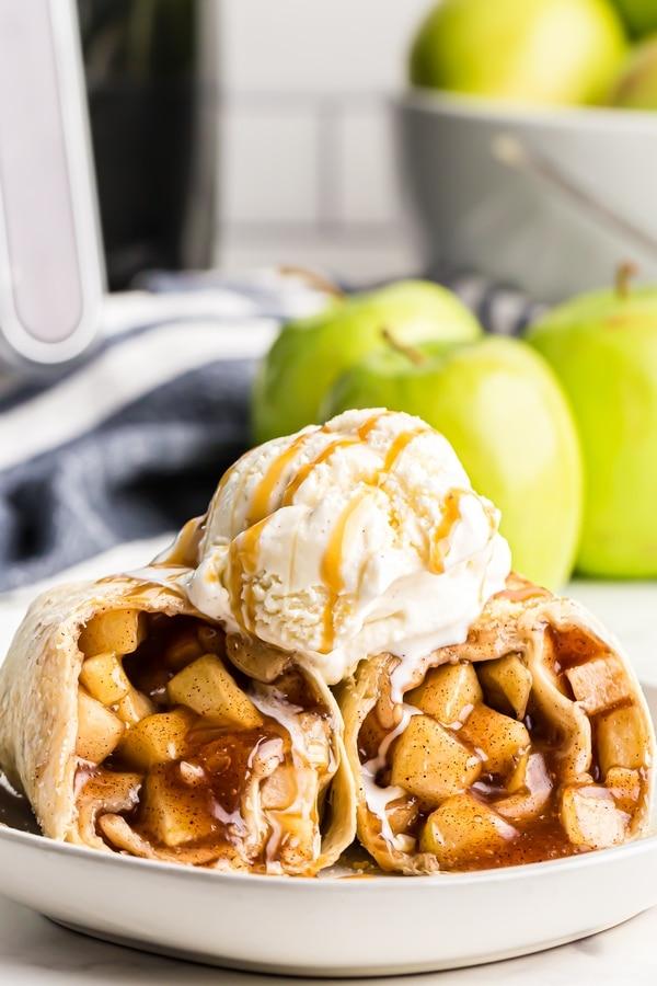 Apple Pie Chimichangas