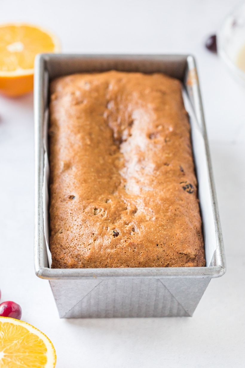 cranberry orange quick bread