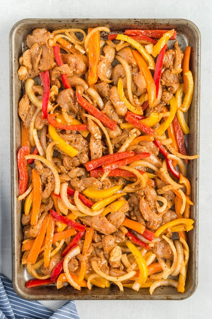 how to bake fajitas in the oven