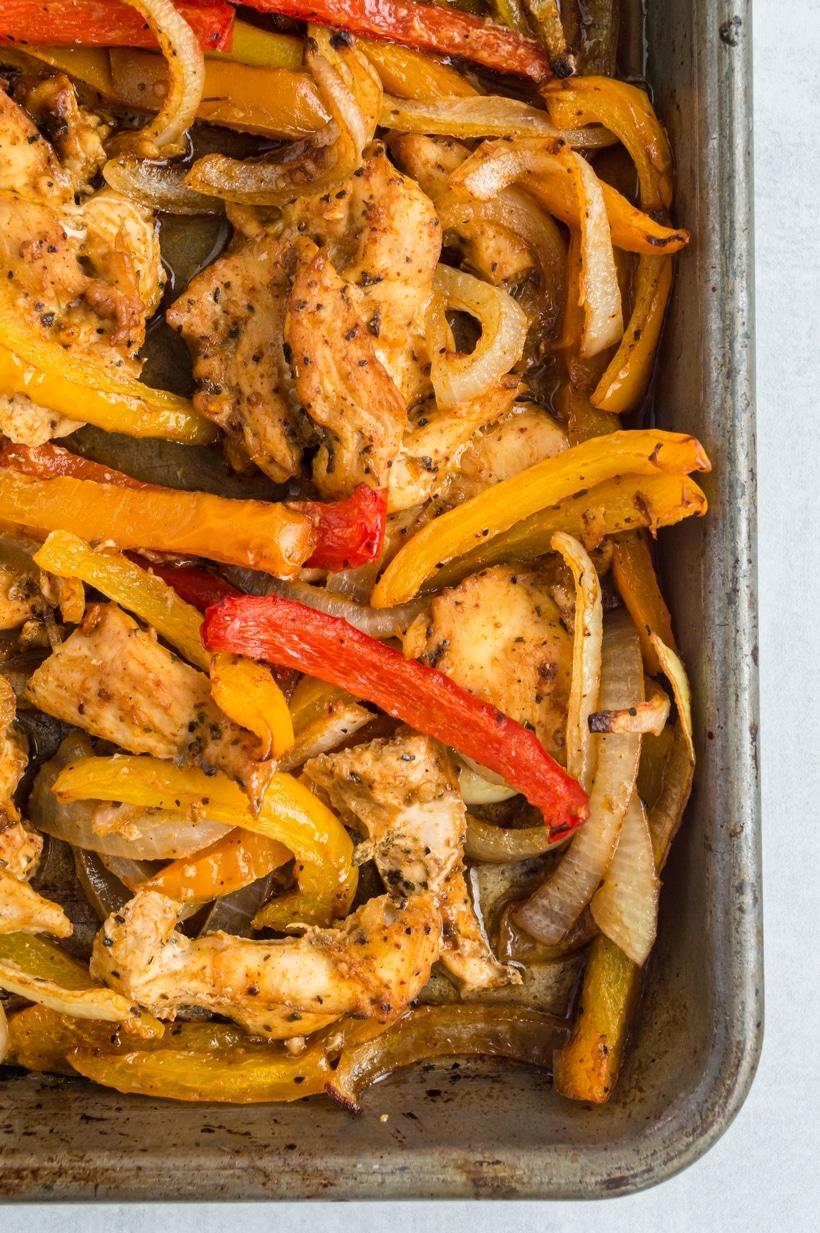 what do you need to make chicken fajitas