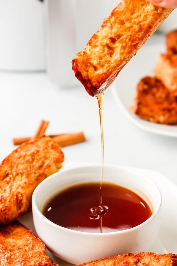 air fryer french toast sticks