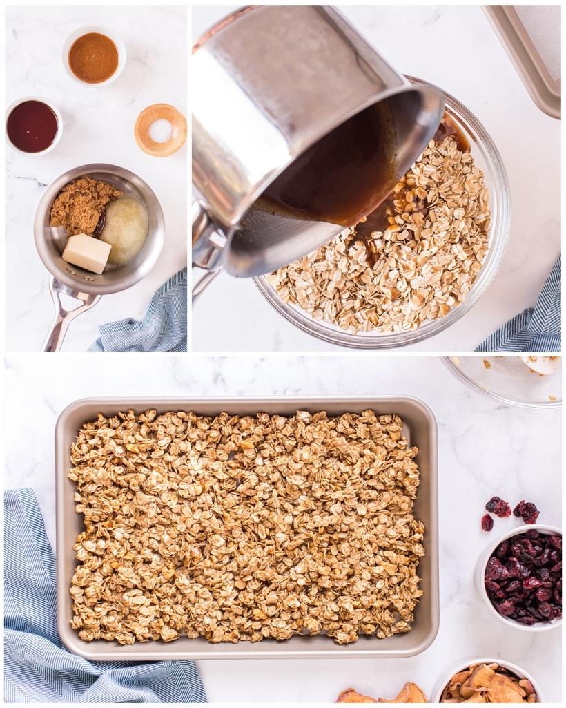 warm crunchy granola