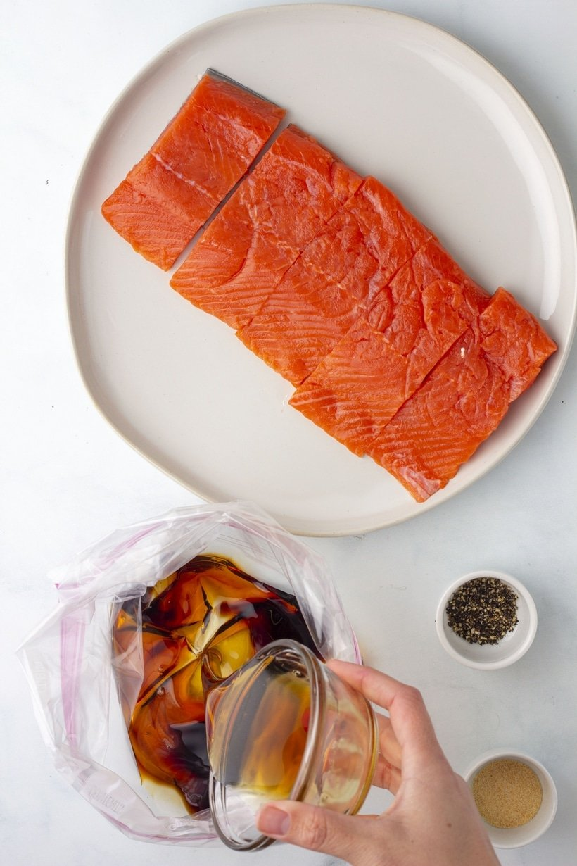 how to make air fryer salmon