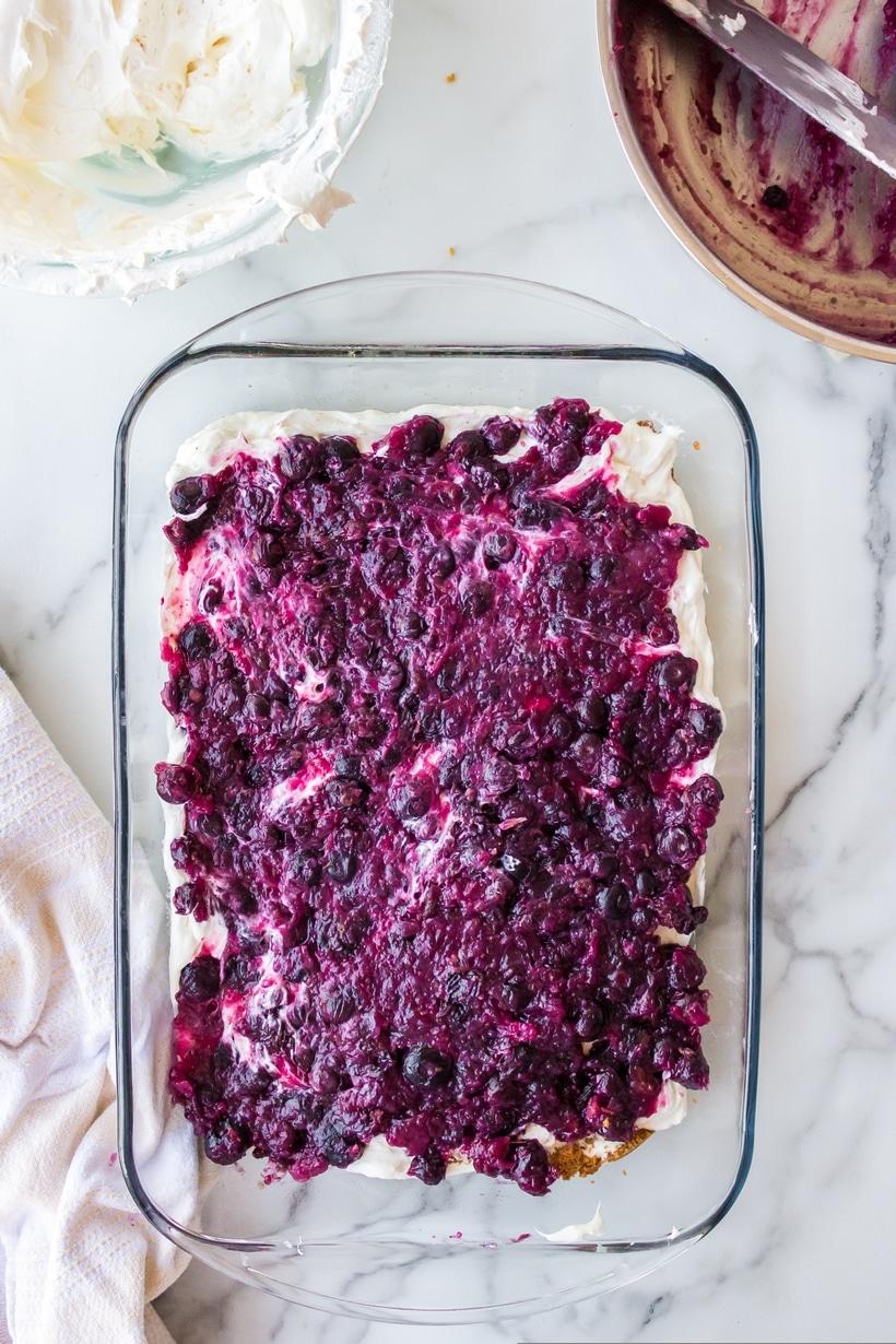 blueberry cream cheese dessert