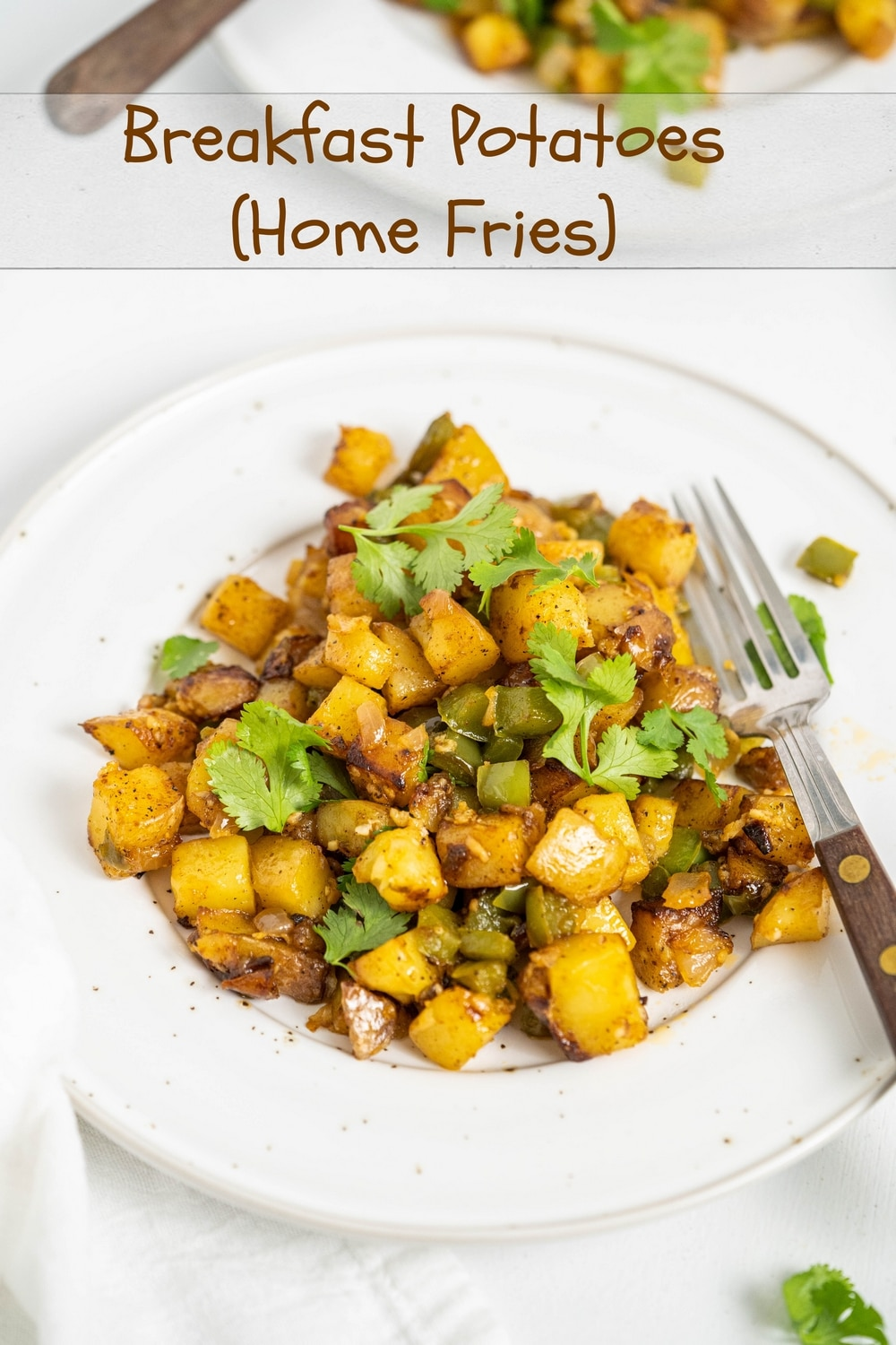 Home fries, a crunchy breakfast staple, with the right balance of a soft, creamy inside and crispy, crunchy outside. Breakfast potatoes are the perfect addition to any morning meal. via @cmpollak1