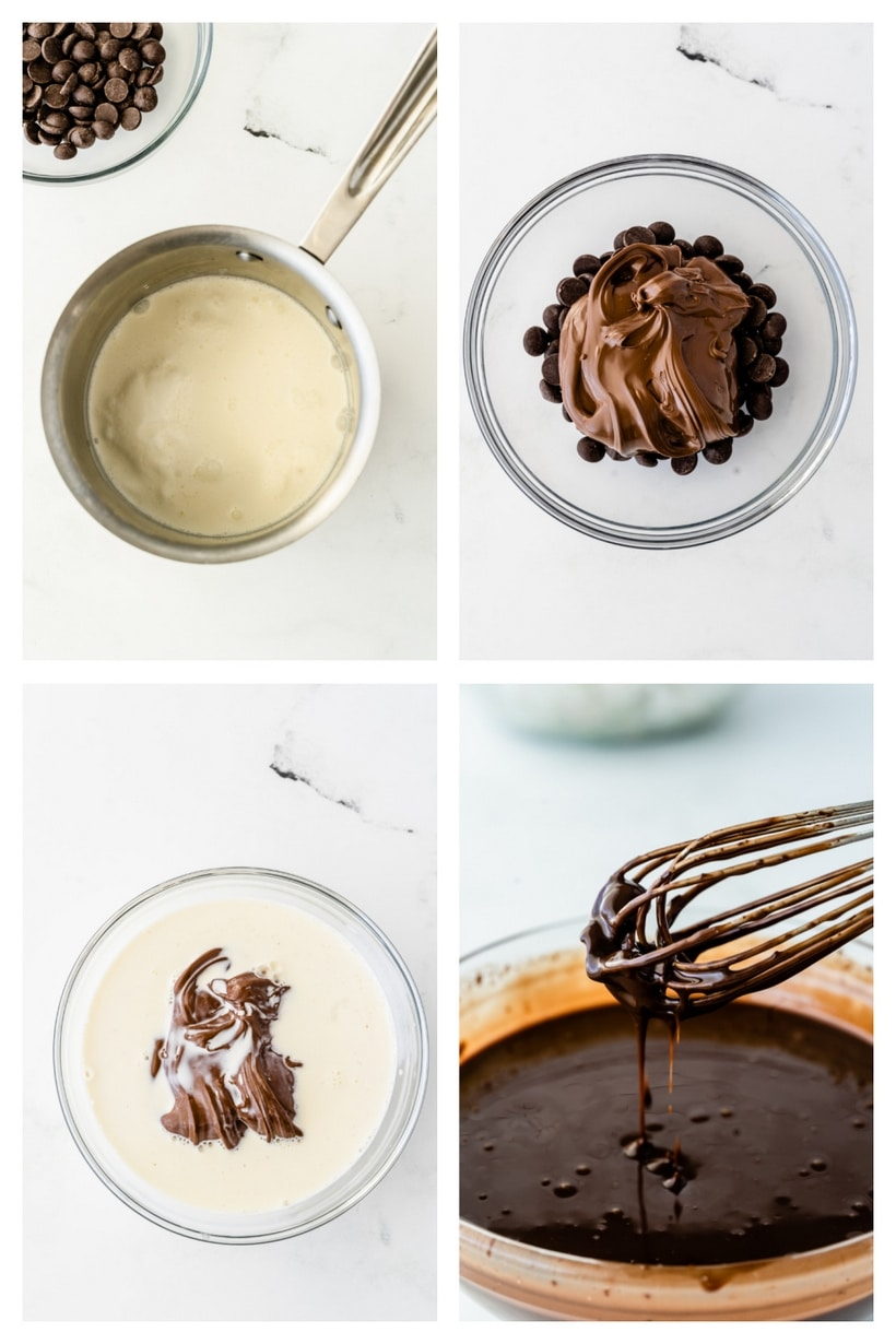 nutella cookie in a cup