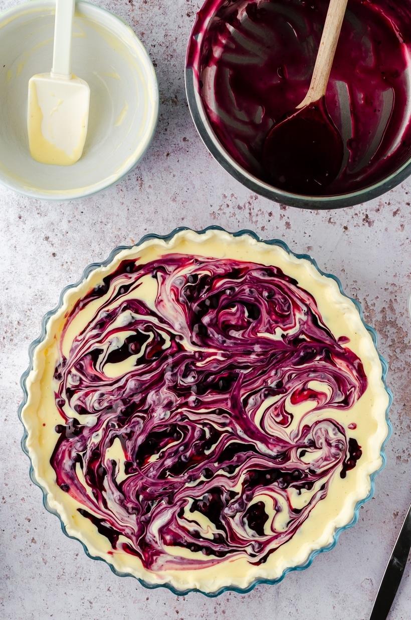 blueberry tart filling