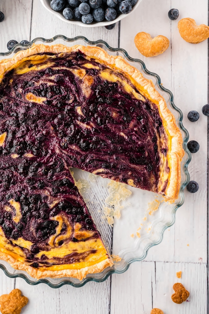 blueberry tart filling pie