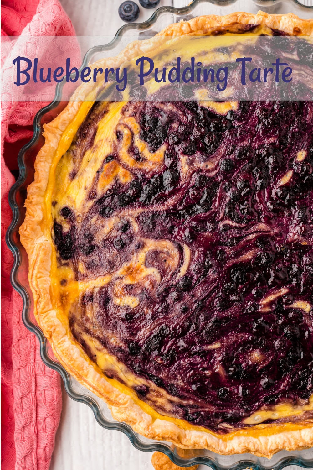 Transform vanilla pudding and blueberry pie filling, with a crisp puff pastry crust, into a pastry-case worthy dessert. This Blueberry Pudding Tart is a showstopper and tastes as good as it looks. via @cmpollak1