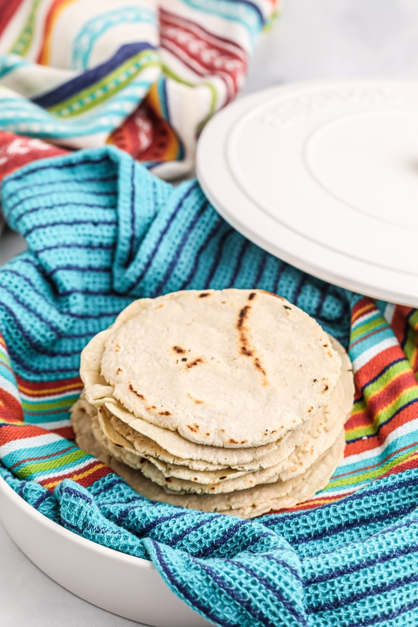how to press tortillas