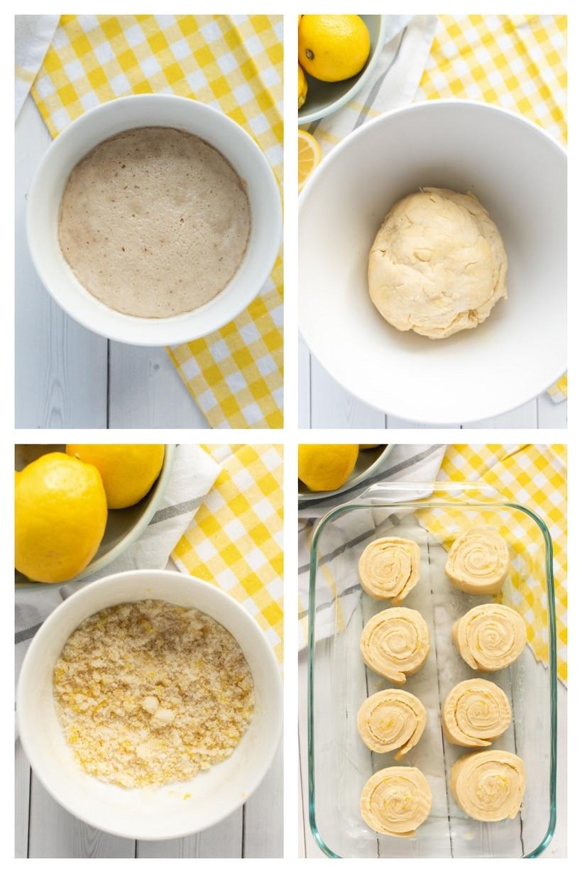 how to make lemon buns