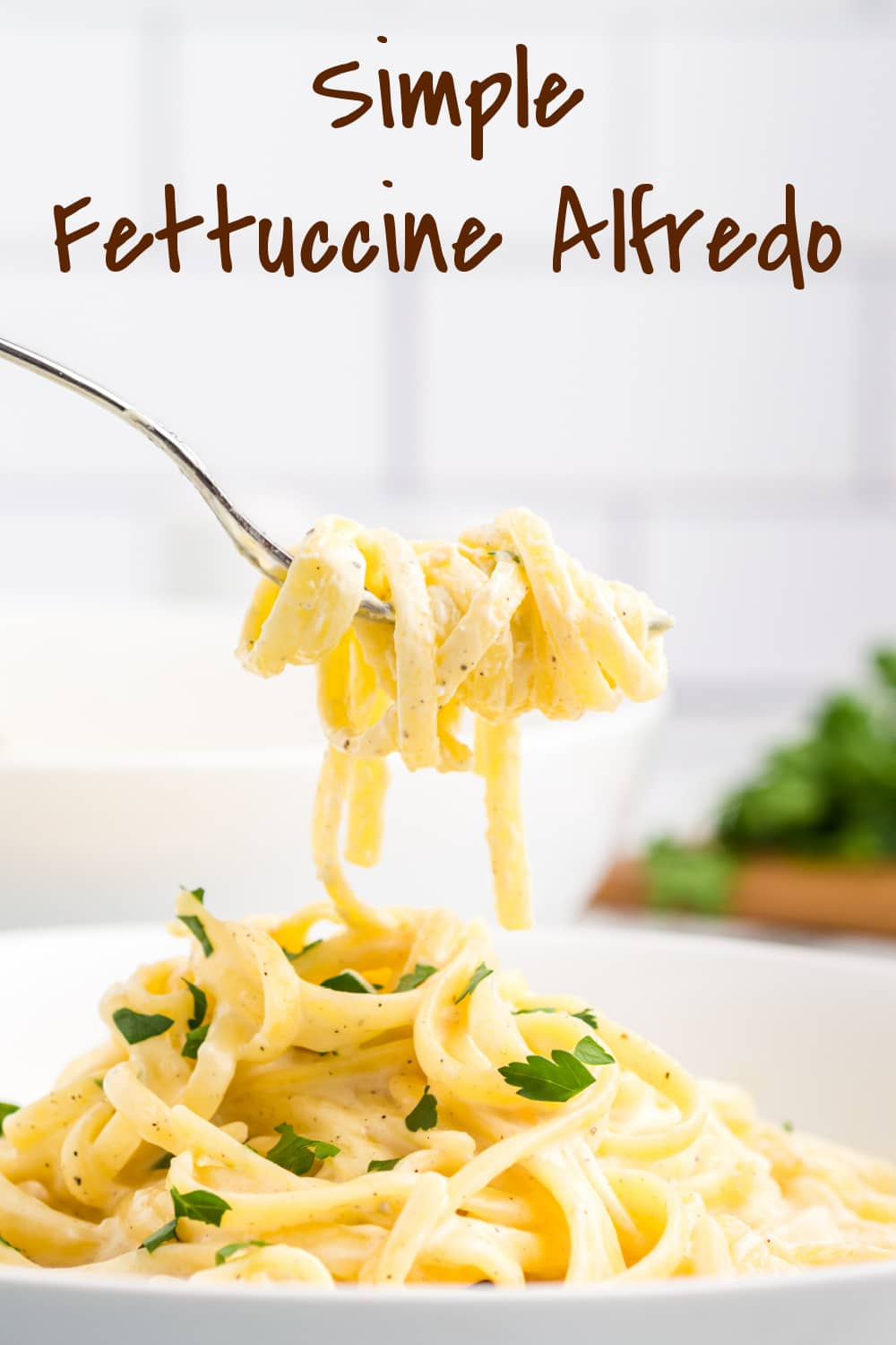 The smoothest Fettuccine Alfredo you'll ever taste. As the cheese melts into the liquid and coats the pasta, you'll understand why the most basic of pasta recipes is truly one of the best! via @cmpollak1