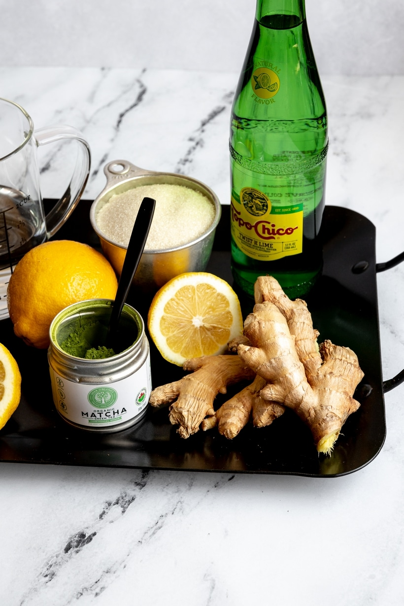 matcha lemonade ingredients