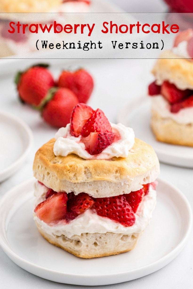 strawberry shortcake cups