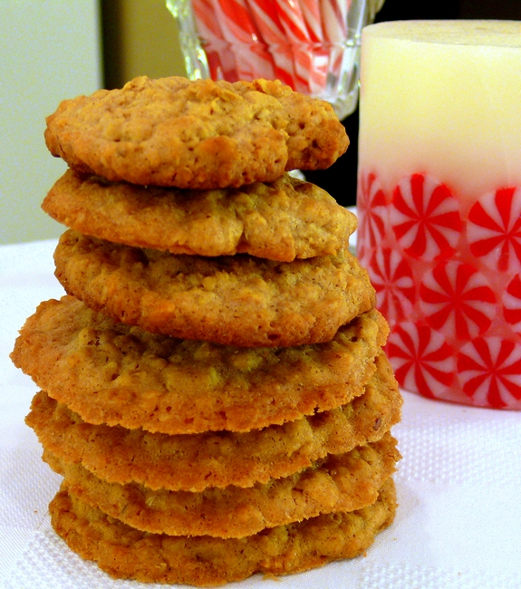 Chinese Five Spice Oatmeal Cookies