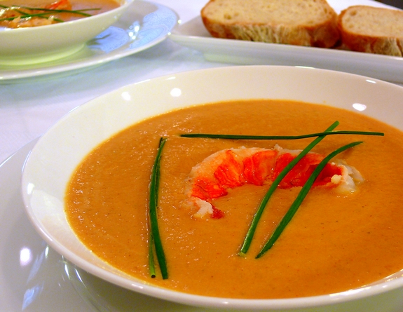 The Best Lobster Bisque