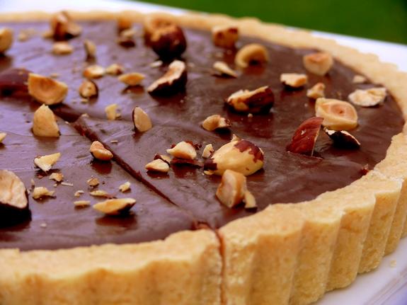 Nutella Hazelnut Tart